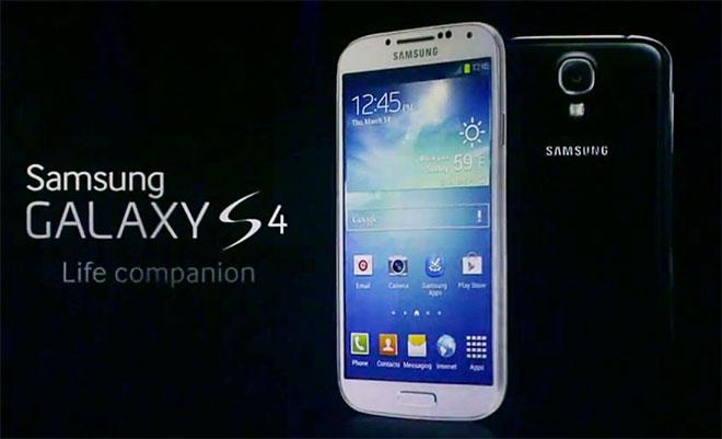sveglia sul Samsung s4