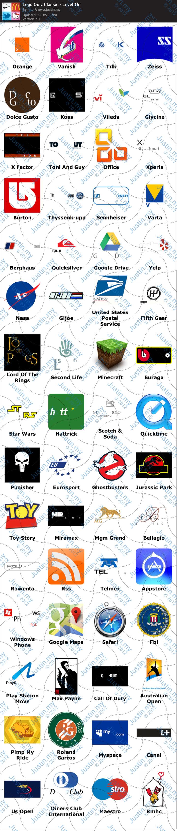 logo quiz soluzioni livelli 11 12 13 14 15 android