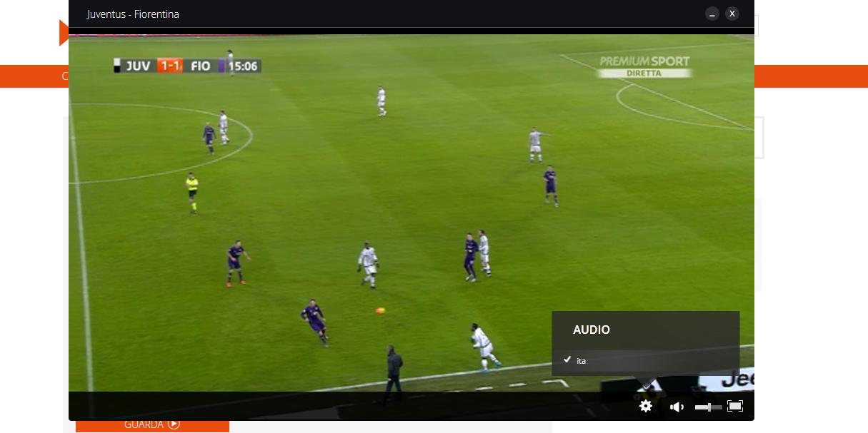 Si pu impostare la telecronaca tifoso su premium play for Premium play su smart tv calcio live