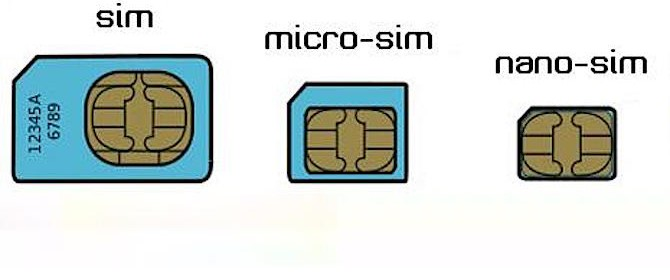 tipoligie sim smartphone cellulari sim nano sim micro sim