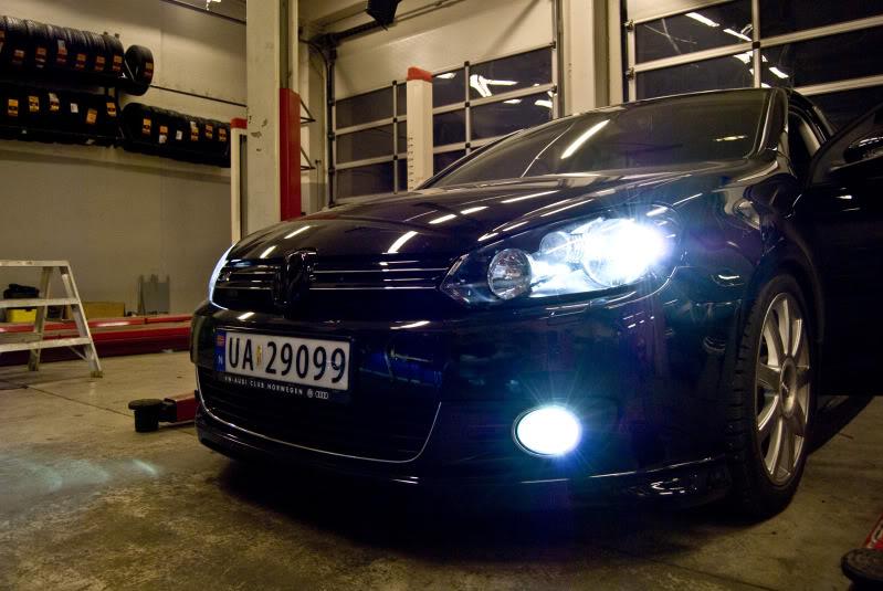 Migliori lampade H7 effetto xenon Volkswagen Golf