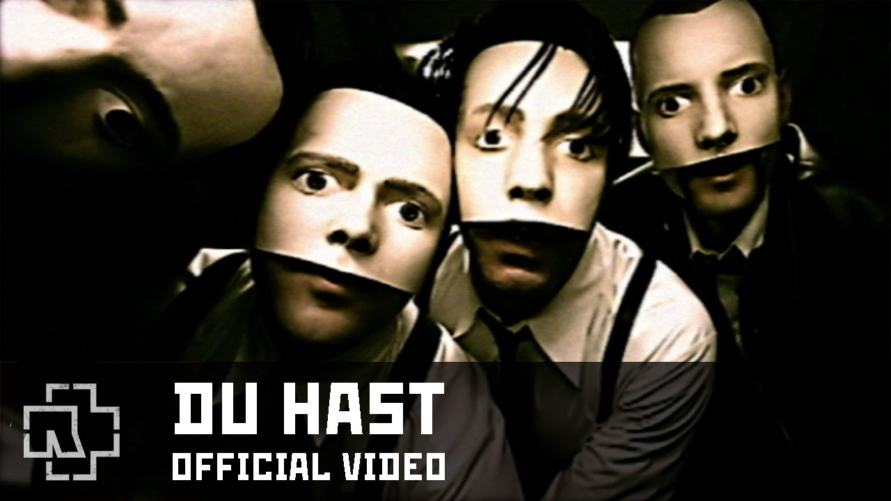 Rammstein, Du hast: testo, parole e video