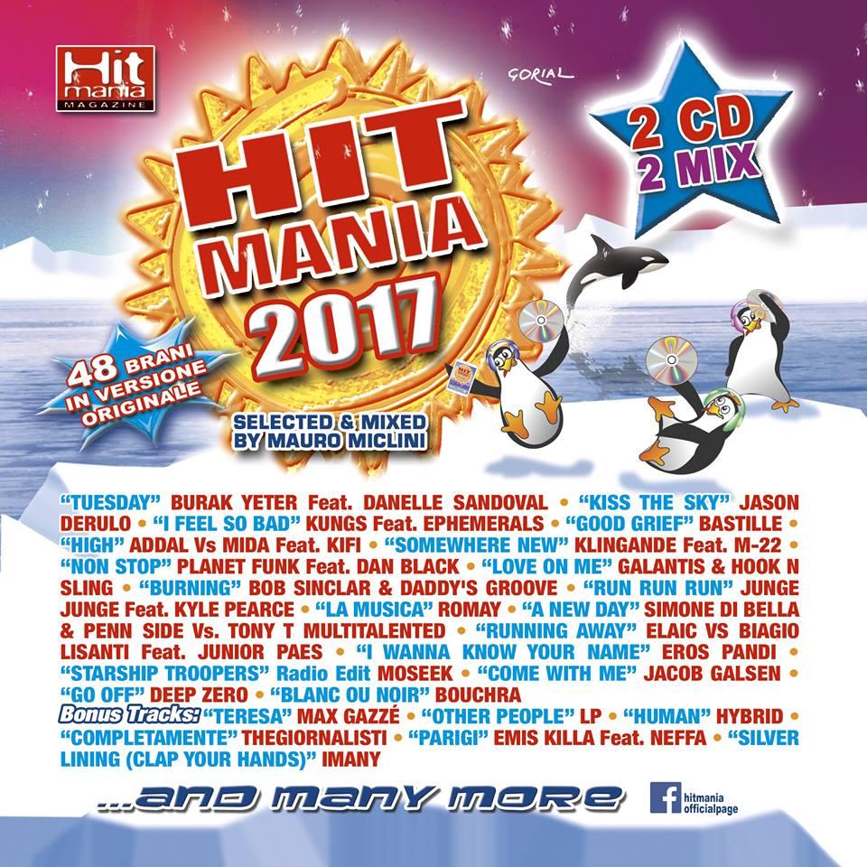 Hit Mania 2017: Tracklist e download