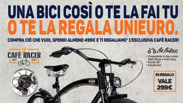 Omaggio Bicicletta Unieuro