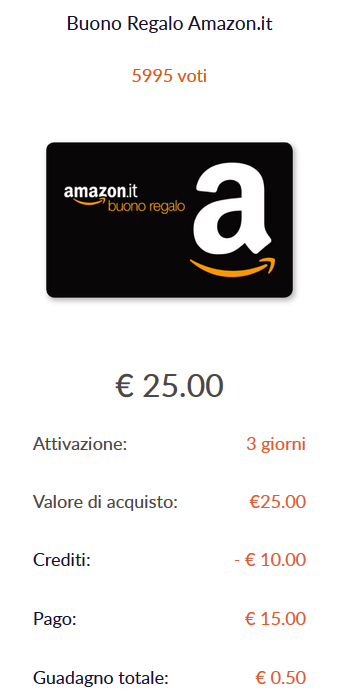 Amazon trucchi per risparmiare ed ottenere buoni regalo for Codici regalo amazon gratis