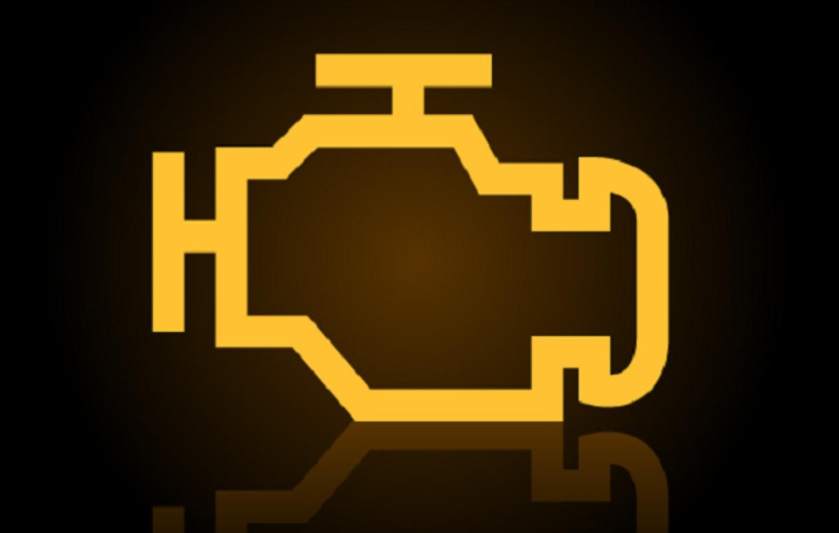 Cosa fare quando si accende la spia gialla del motore in avaria