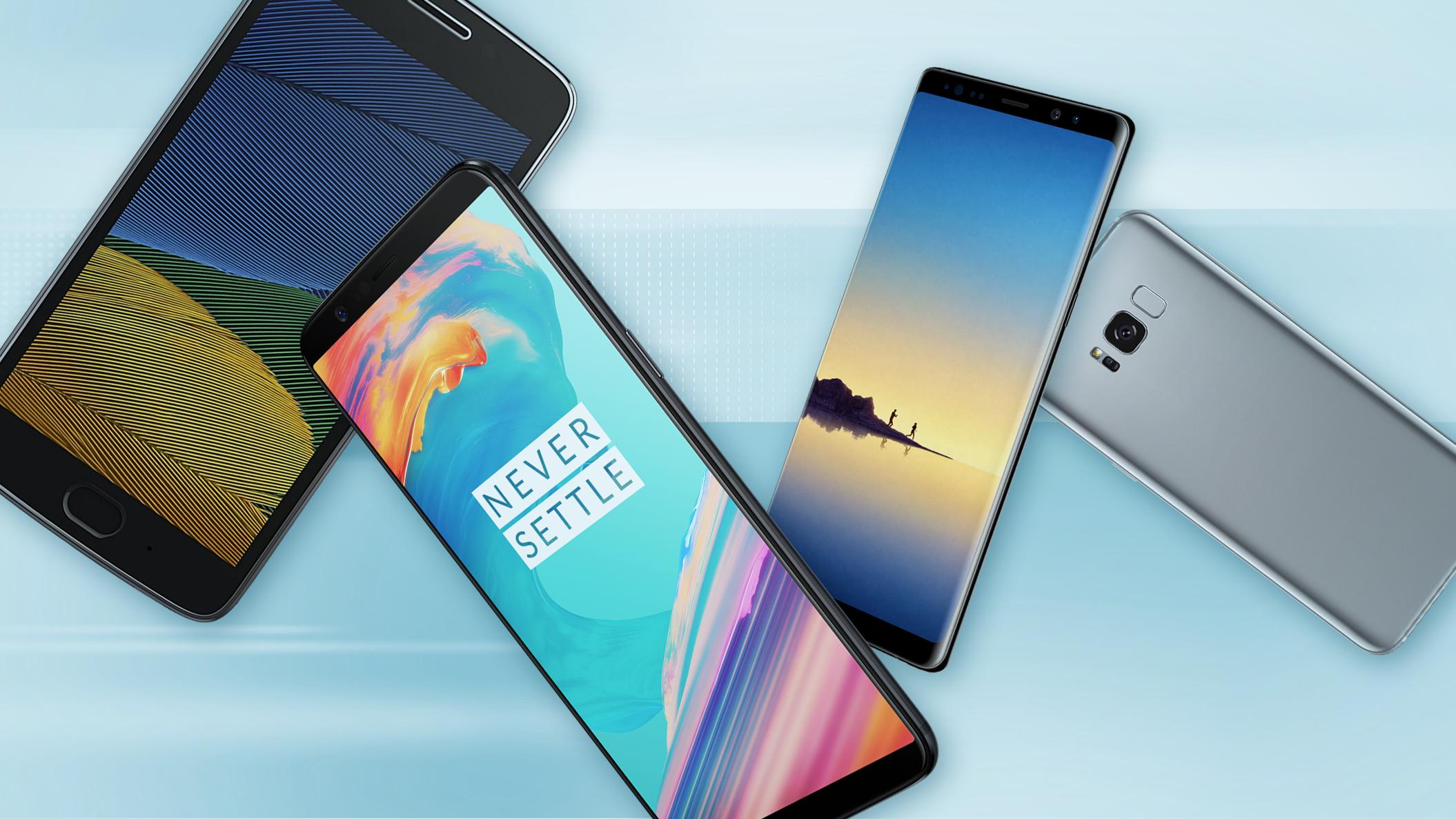 classifica migliori 5 smartphone top di gamma aprile 2018