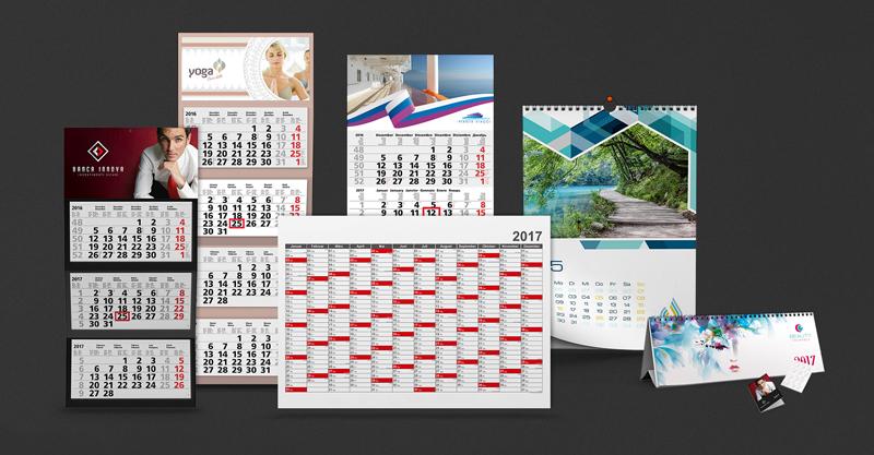 Il calendario come mezzo di comunicazione e pubblicità