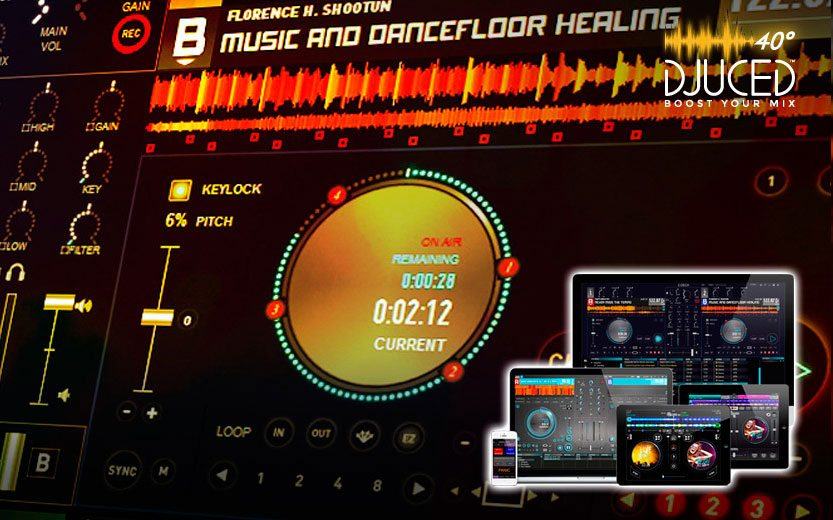 Software per DJ: Hercules DJUCED 40° link per download diretto