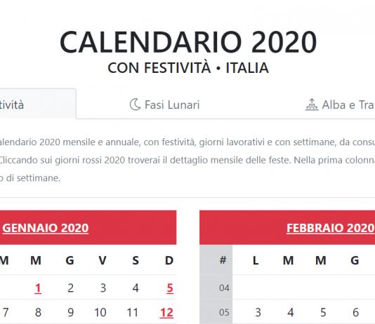 Calendario 2020 Con Le Settimane.Index Of Wp Content Uploads 2019 06