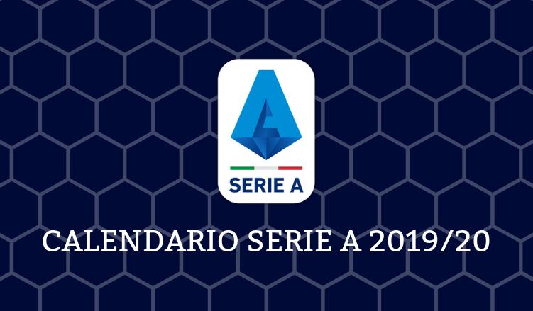 Calendario Partite Serie A 2020 2020.Calendario Campionato Di Calcio Serie A 2019 20 In Pdf