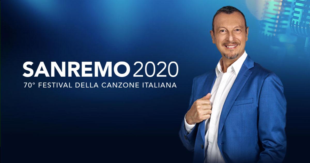 Sanremo 2020: titoli delle canzoni cantate da Amadeus nello spot